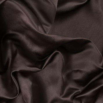 Brown Double Faced Duchesse Satin