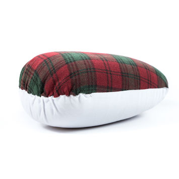 Green and Red Plaid Dressmakers Ham