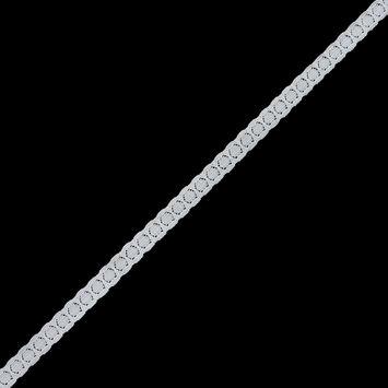 Ivory Stretch Lace Trim - 0.375