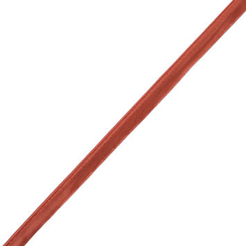 Orange Satin Cord Trim with Lip - 0.5