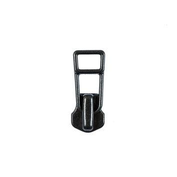 YKK Gunmetal Zipper Pull - #5