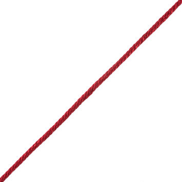 Red Twisted Cord - 0.25