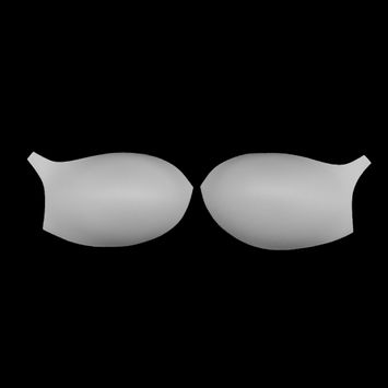 White Bra Cup with a Strap - Size 34B