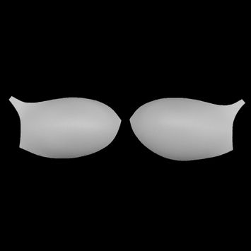 White Bra Cup with a Strap - Size 36B