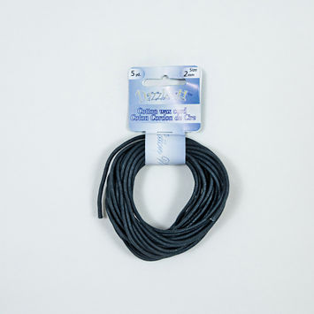 Dazzle-It Blue Nights Cotton Wax Cord - 2mm