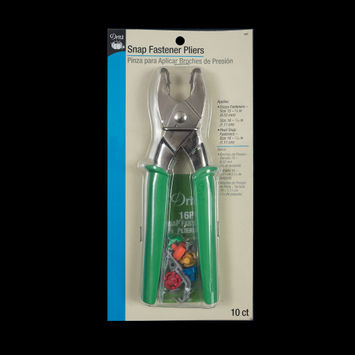 "Dritz Green Snap Fastener Plier Kit 0.378"" and 0.438""-319682-10"