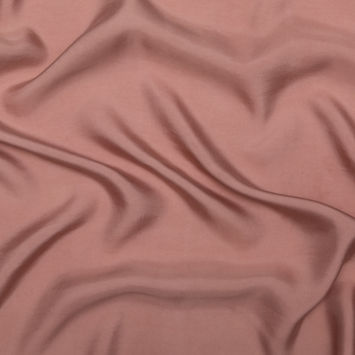 Dusty Rose Washed Copper and Rayon Twill