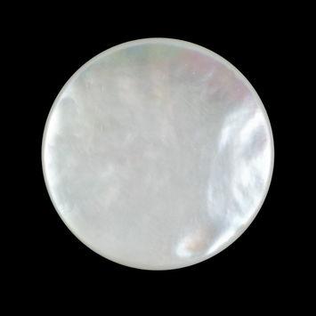 Italian Beige Mother Of Pearl Shank Back Button 44L/27mm-320549-10