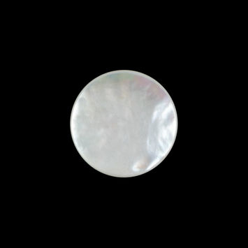 Italian Beige Mother Of Pearl Shank Back Button 28L/18mm-320649-10