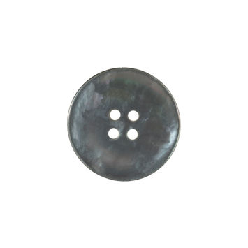Italian Gray Iridescent Mother of Pearl Button 32L/20mm-320808-10