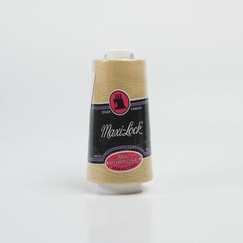 Maxilock Straw Gold Serger Thread - 3000 yards