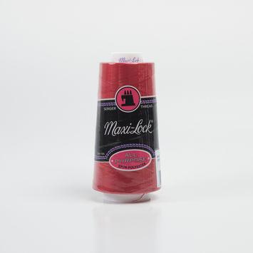Maxilock Poppy Red Serger Thread - 3000 yards