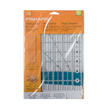 "Fiskars Folding Ruler 6"" x 24""-321222-10"