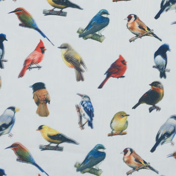Mood Exclusive A Songbird's Perch 3D Fabric
