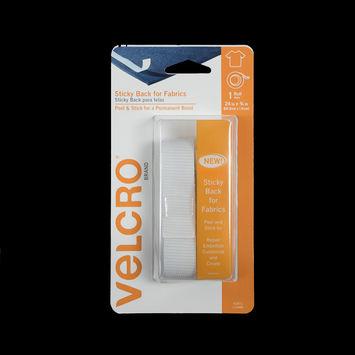 """White Sticky Back VELCROandreg; Tape 24"""" x 0.75""""-321269-10"""