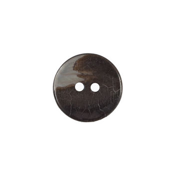 Black 2-Hole Mother Of Pearl Button 24L/15mm-321394-10