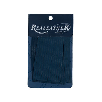 Realeather Cadet Blue Deerskin Fringe Trim-321556-10