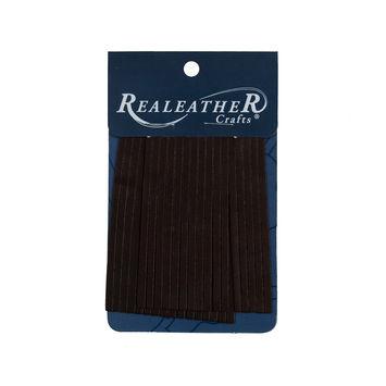 Realeather Chocolate Deerskin Fringe Trim-321558-10