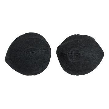 "Pair of Black Shoulder Pads 8"" x 7""-322374-10"