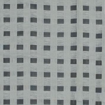 Katia Silver Checkered Linen Woven