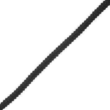 "Black Braided Cord 0.5""-323044-10"