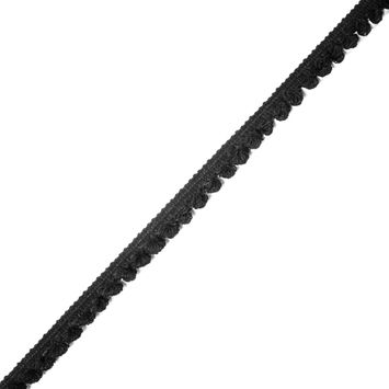 "Large Black Pom Pom Trim 0.75""-323785-10"