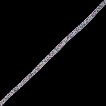 """Purple Floral Piping with Lip 0.5""""-323853-10"""