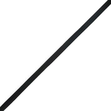 """Black Single Foldover Webbing 0.5""""-323857-10"""
