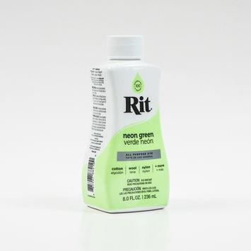 Rit Neon Green Liquid Dye 8oz-323863-10