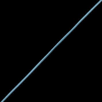 "Light Blue Braided Cord 0.25""-323921-10"