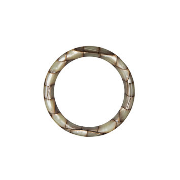"""Beige and Green Plastic O-Ring 1.75""""-323971-10"""