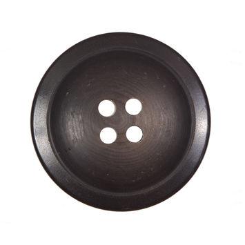Matte Brown Plastic 4-Hole Button 48L/28mm-324245-10