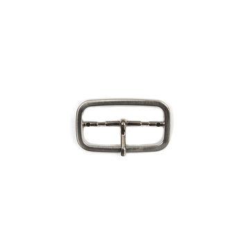 """Silver Nickel Metal Buckle 1.875"""" x 1""""-324544-10"""