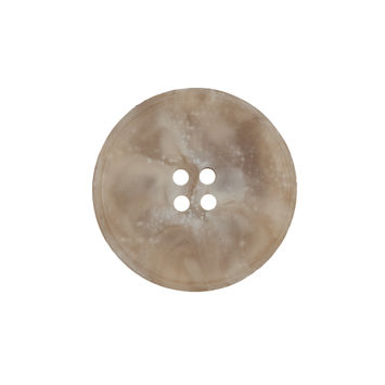 Beige Marbled Plastic 4-Hole Button 36L/23mm-324552-10