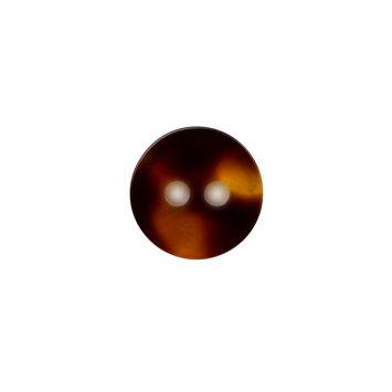 Tortoise Shell 2-Hole Button 20L/12.5mm-324595-10