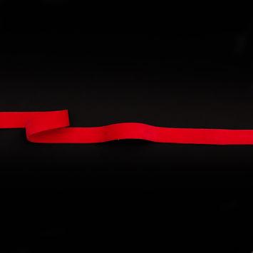 """Italian Red Double Faced Brushed Velvet 0.625""""-324963-10"""
