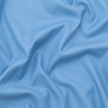 Italian Faded Blue and Moonstruck Double-Faced Stretch Cotton Twill-326306-10