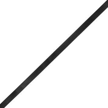 1/2 Black Single Face Satin Ribbon