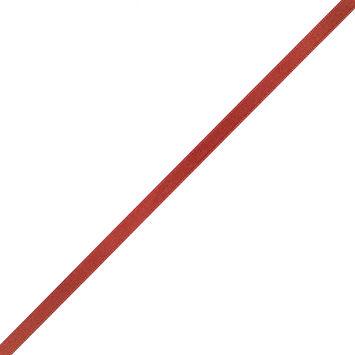 1/4 Rust Single Face Satin Ribbon