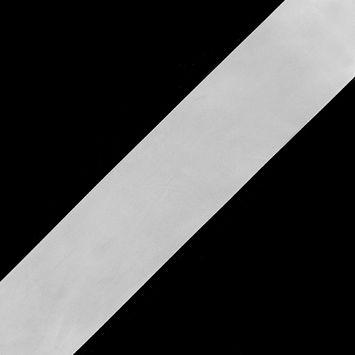 2.25 White Single Face Satin Ribbon