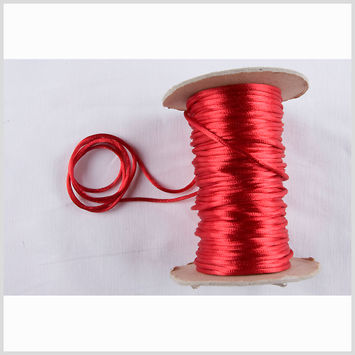 1mm Red Rattail Cord
