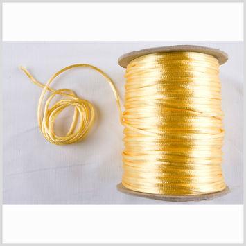 1mm Light Yellow Rattail Cord
