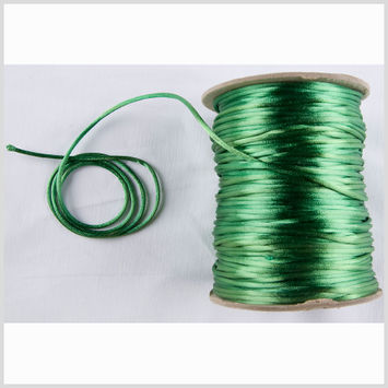 2mm Emerald Rattail Cord