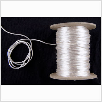 2mm Ivory Rattail Cord