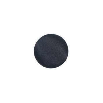 Black Silk Covered Button 20L/13mm-4267-10