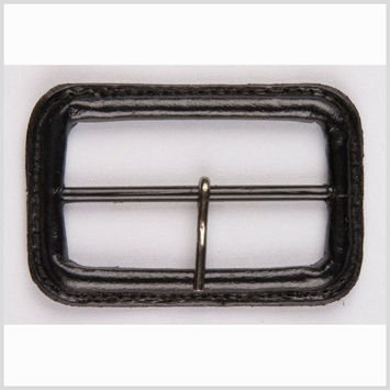 1.5 Black Leather Buckle