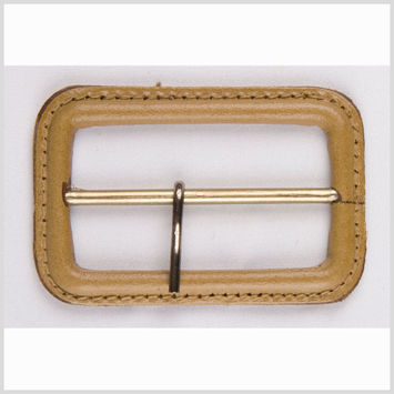 3/4 Natural Leather Buckle