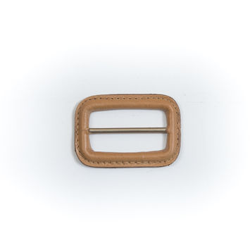 "Natural Leather Buckle 2.125"" x 1.5""-5483-10"