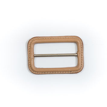 "Natural Leather Buckle 2.625"" x 1.75""-5484-10"