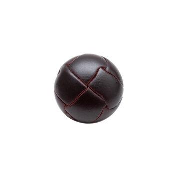 Antique Leather Shank Back Button 24L/15mm-5565-10